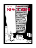 The New Yorker Cover - November 28, 2005 Giclee Print by Bruce Eric Kaplan