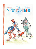 The New Yorker Cover - July 3, 1989 Regular Giclee Print by Lee Lorenz