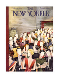 The New Yorker Cover - October 27, 1934 Regular Giclee Print by Constantin Alajalov