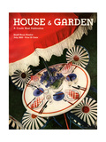 House & Garden Cover - July 1932 Regular Giclee Print by Anton Bruehl