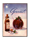Gourmet Cover - December 1941 Regular Giclee Print by Henry Stahlhut