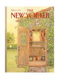 The New Yorker Cover - July 10, 1989 Regular Giclee Print by Jenni Oliver