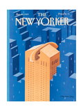 The New Yorker Cover - January 30, 1989 Regular Giclee Print by Kathy Osborn