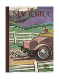 The New Yorker Cover - October 7, 1933 Regular Giclee Print by Peter Arno