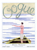 Vogue Cover - June 1927 Giclee Print by Georges Lepape