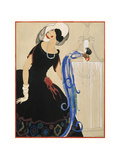 Vogue - June 1921 Regular Giclee Print by Helen Dryden
