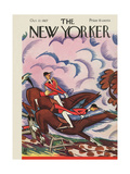 The New Yorker Cover - October 22, 1927 Regular Giclee Print by Julian de Miskey