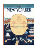 The New Yorker Cover - September 9, 1991 Regular Giclee Print by Kathy Osborn