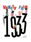Vanity Fair Cover - January 1933 Regular Giclee Print by Frederick Chance