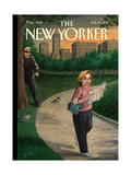 The New Yorker Cover - July 19, 1999 Giclee Print by Harry Bliss