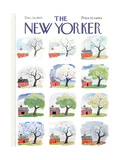The New Yorker Cover - December 28, 1963 Regular Giclee Print by Garrett Price