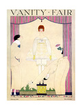 Vanity Fair Cover - February 1919 Giclee Print by Georges Lepape