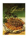 Gourmet Cover - September 1954 Giclee Print by Henry Stahlhut