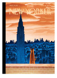 The New Yorker Cover - January 12, 2009 Reproduction procédé giclée par Mark Ulriksen