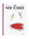 The New Yorker Cover - February 12, 1990 Giclee Print by Arnie Levin