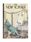 The New Yorker Cover - February 27, 1960 Regular Giclee Print by Perry Barlow