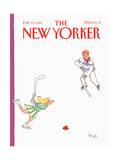 The New Yorker Cover - February 13, 1989 Regular Giclee Print by Arnie Levin