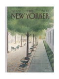 The New Yorker Cover - September 19, 1983 Regular Giclee Print by Charles E. Martin