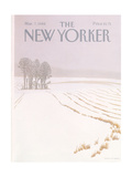The New Yorker Cover - March 7, 1988 Regular Giclee Print by Gretchen Dow Simpson