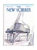 The New Yorker Cover - November 12, 1990 Regular Giclee Print by Paul Degen