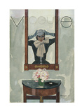 Vogue - September 1931 Regular Giclee Print by Pierre Mourgue