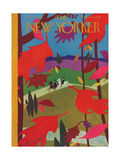 The New Yorker Cover - October 17, 1931 Premium Giclee Print by Adolph K. Kronengold