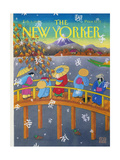 The New Yorker Cover - February 3, 1992 Giclee Print by Bob Knox
