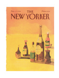 The New Yorker Cover - November 17, 1986 Giclee Print by Abel Quezada
