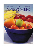 The New Yorker Cover - September 14, 1992 Giclee Print by Gretchen Dow Simpson