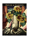 House & Garden Cover - April 1929 Regular Giclee Print by Bradley Walker Tomlin