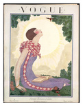 Vogue Cover - June 1925 Giclee Print by Georges Lepape