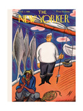 The New Yorker Cover - February 1, 1930 Regular Giclee Print by Julian de Miskey