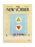 The New Yorker Cover - September 28, 1987 Giclee Print by Paul Degen