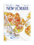 The New Yorker Cover - October 17, 1983 Regular Giclee Print by Arthur Getz