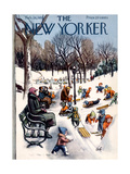 The New Yorker Cover - February 26, 1955 Giclee Print by Arthur Getz