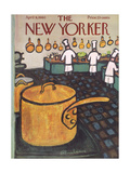 The New Yorker Cover - April 9, 1960 Giclee Print by Abe Birnbaum
