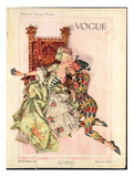 Vogue Cover - November 1912 Regular Giclee Print by Frank X. Leyendecker