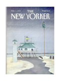 The New Yorker Cover - December 3, 1984 Regular Giclee Print by Susan Davis