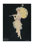 Vogue - January 1914 Giclee Print by Helen Dryden