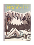 The New Yorker Cover - February 7, 1942 Giclee Print by Peter Arno