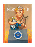 The New Yorker Cover - January 22, 2007 Premium Giclee Print by Anita Kunz