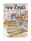 The New Yorker Cover - January 21, 1980 Regular Giclee Print by Arthur Getz