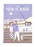 The New Yorker Cover - July 17, 1989 Regular Giclee Print by Devera Ehrenberg