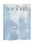 The New Yorker Cover - January 2, 1978 Regular Giclee Print by R.O. Blechman