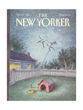 The New Yorker Cover - October 21, 1991 Regular Giclee Print by John O'brien