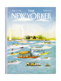 The New Yorker Cover - August 8, 1988 Regular Giclee Print by Susan Davis