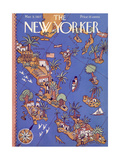 The New Yorker Cover - March 5, 1927 Giclee Print by Ilonka Karasz