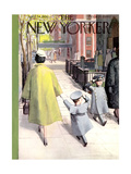 The New Yorker Cover - April 14, 1956 Giclee Print by Arthur Getz