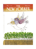 The New Yorker Cover - May 7, 1984 Regular Giclee Print by Joseph Low
