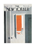 The New Yorker Cover - September 24, 1966 Giclee Print by Charles E. Martin